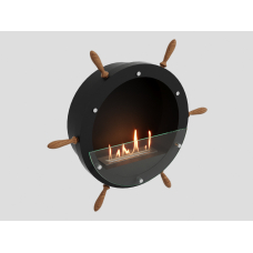 Биокамин настенный Lux Fire Капитан 500 Н XS черный