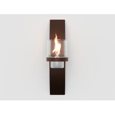 Биокамин настенный Lux Fire Олимпус D коричневый