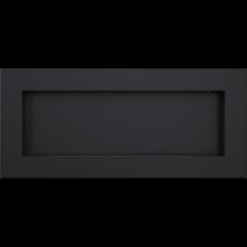 Биокамин встраиваемый Kratki DELTA 2 SLIM черный, TUV
