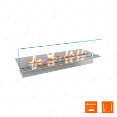 Топливный блок SteelHeat LINE GLASS 500